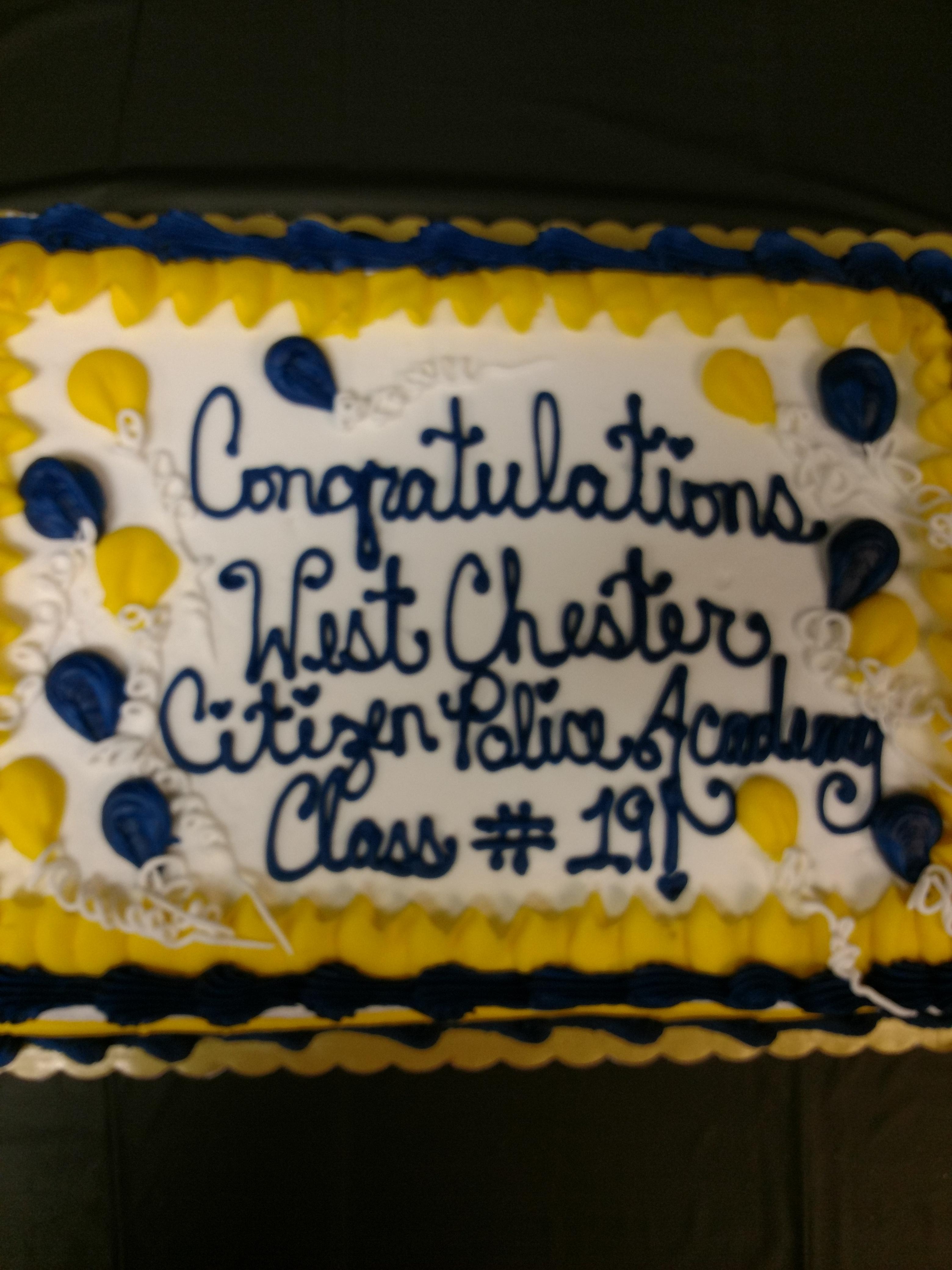 Class 19 graduation