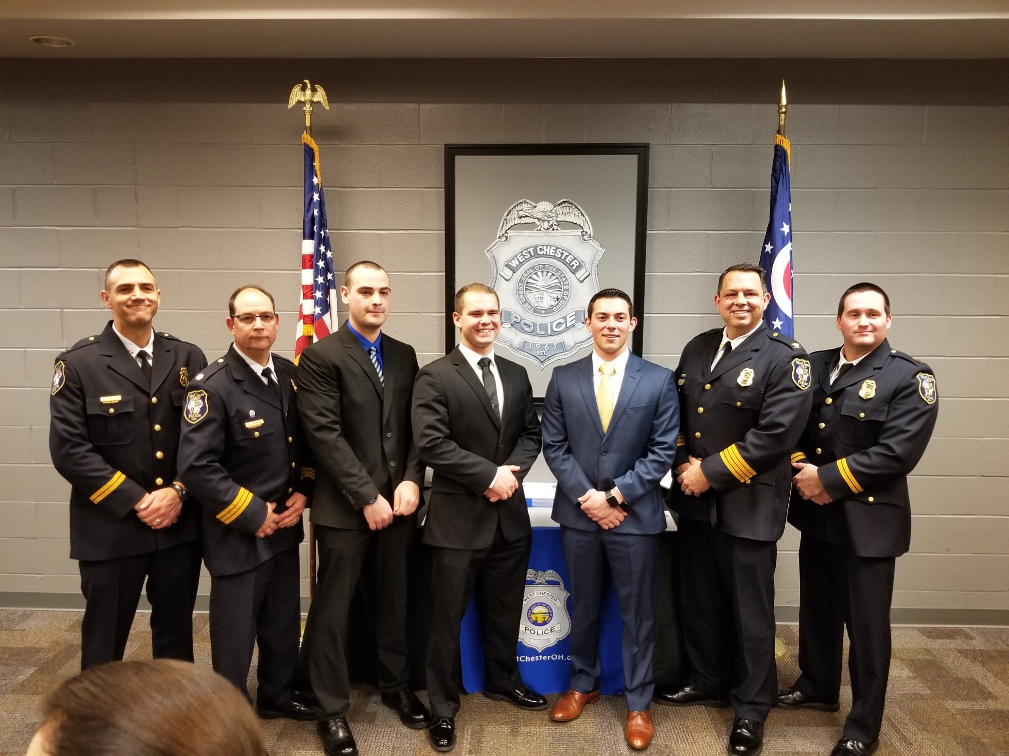 New police officers sworn in – 1/17/2019