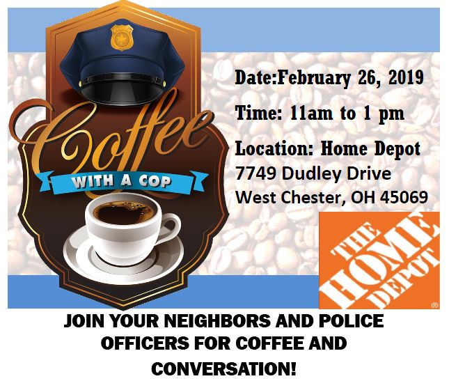 Coffee with a Cop – Home Depot
