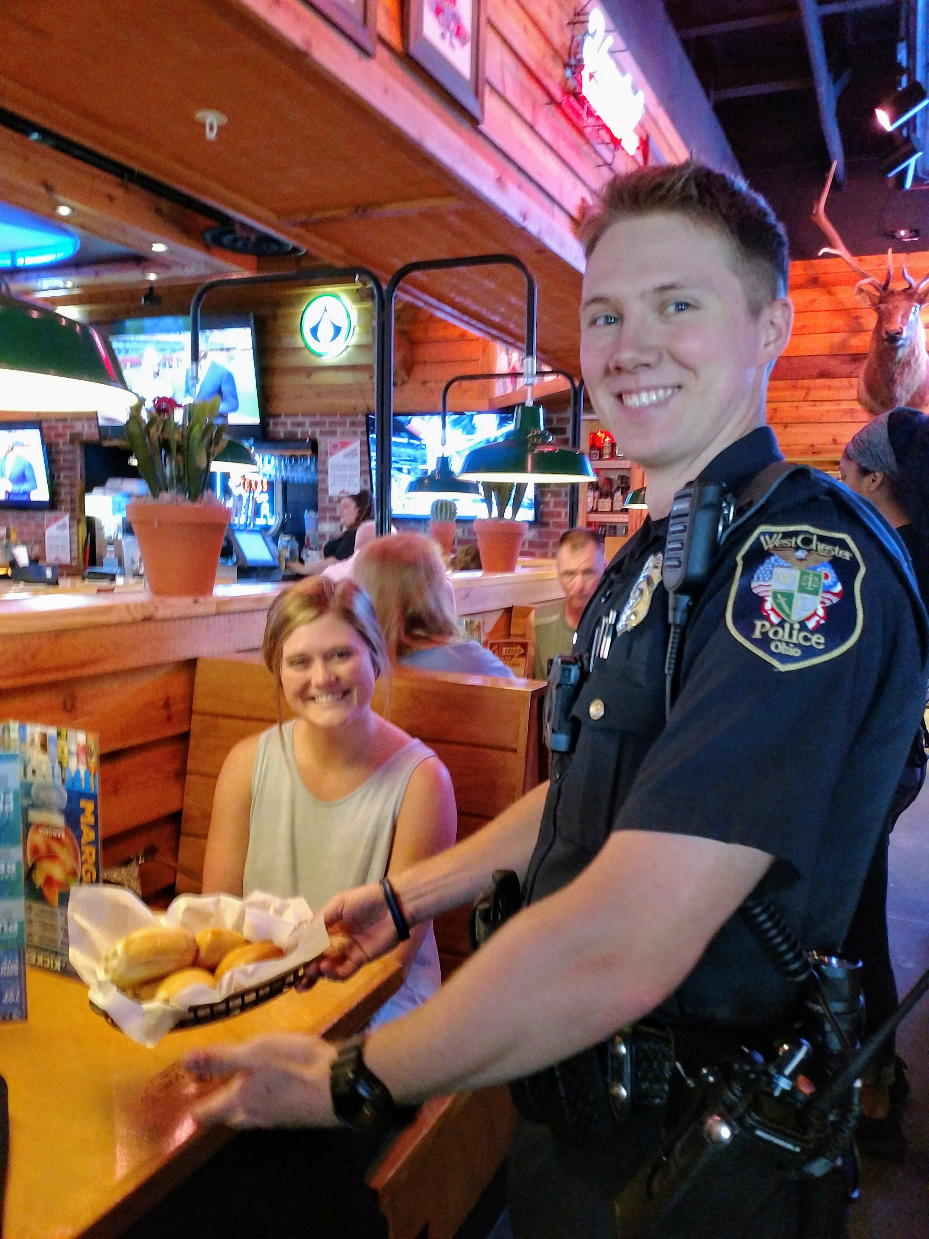 Tip-A-Cop at Texas Roadhouse