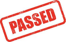 The police and fire levies passed!