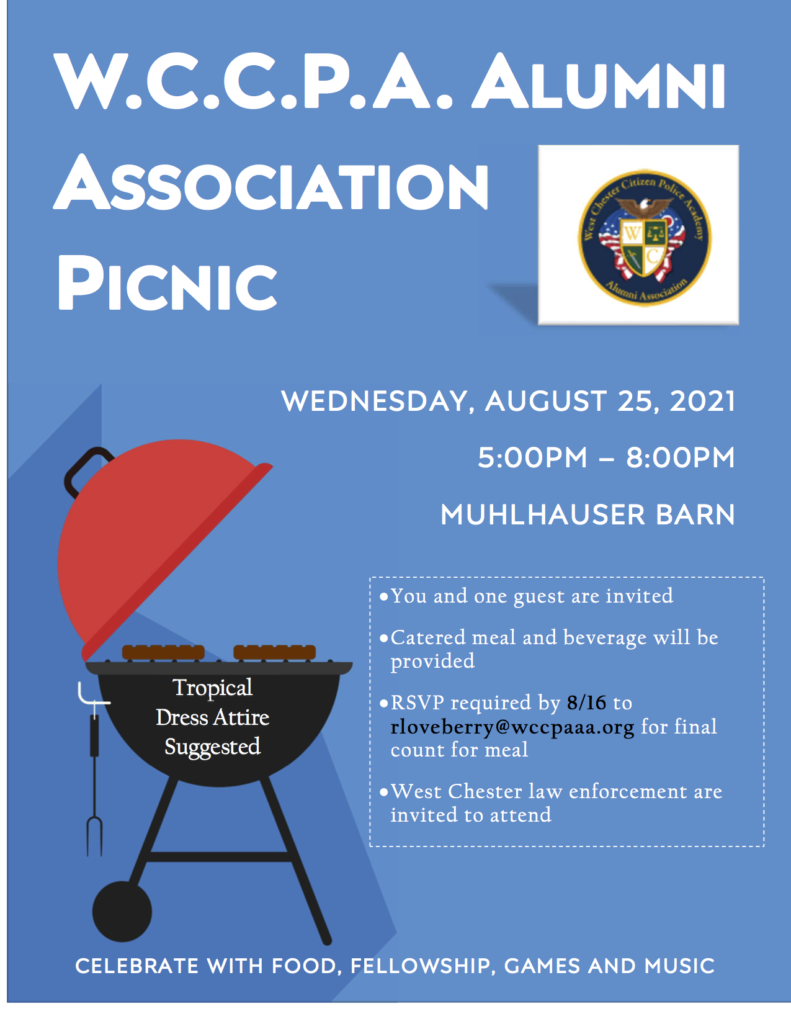 Join Us for Our Annual Picnic on August 25th